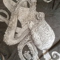 Octopus V-Neck Tee Detail